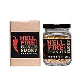 I LOVE SPICY Hellfire Cacahuetes Smoky (Trinidad Scorpion y Fatalii Chile) 100 g Calor 4/5