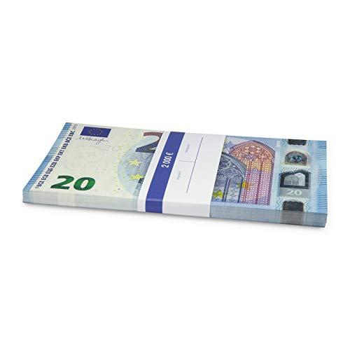 Litfax GmbH 20€ Euroschein / Euro-Geldscheine ca. 175 x 91 mm / banderoliert, je Pack. 75 Stück
