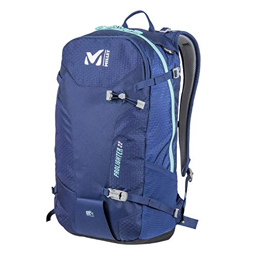 MILLET Unisex-Adult PROLIGHTER 22 Rucksack, Blue Depths, 25x56x55 centimeters