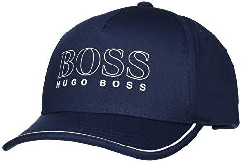 BOSS Cap-Basic-1 Gorra de béisbol, Azul (Navy 410), Talla única (Talla del Fabricante: ONESI) para Hombre