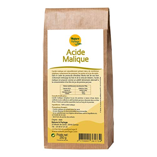 Acide malique - 250 g