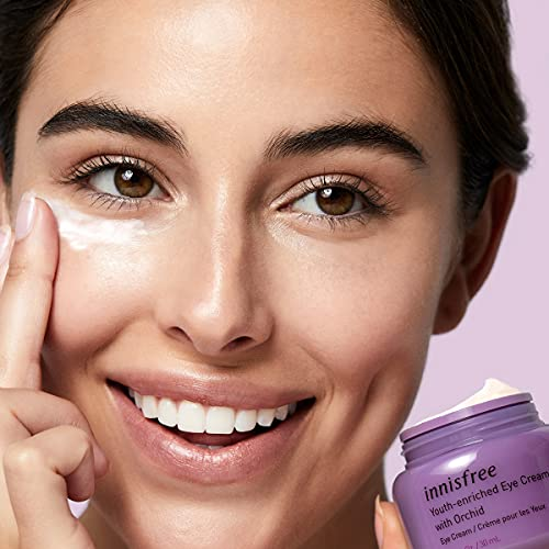 innisfree Orchid Youth Enriched Eye Cream Hyaluronic Acid Moisturizer