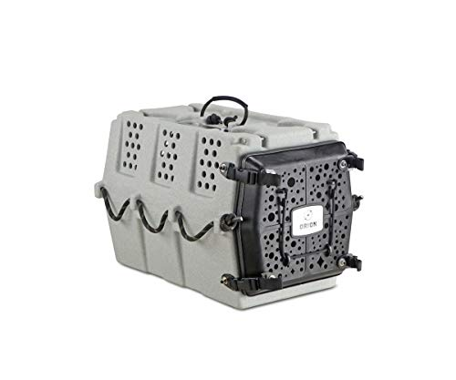 Orion Kennels AD1 (Stone), Durable, Safe, Portable – Premium Crate Training Kennel for Puppies and Dogs up to 25lbs. Basic Crates