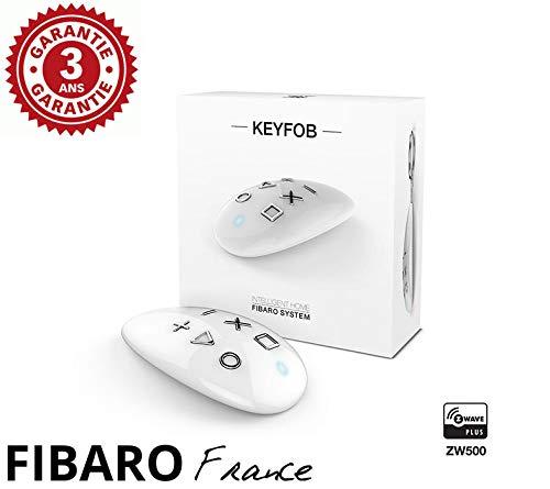 Fibaro KEYFOB-Mando a Distancia Llavero Z-Wave +