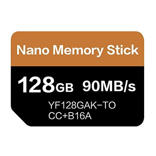 tulipde Für Huawei NM Speicherkarte 128 GB Speicherkarte Unterstützung Huawei Mobile Phone Mate 20 Series P30 Series