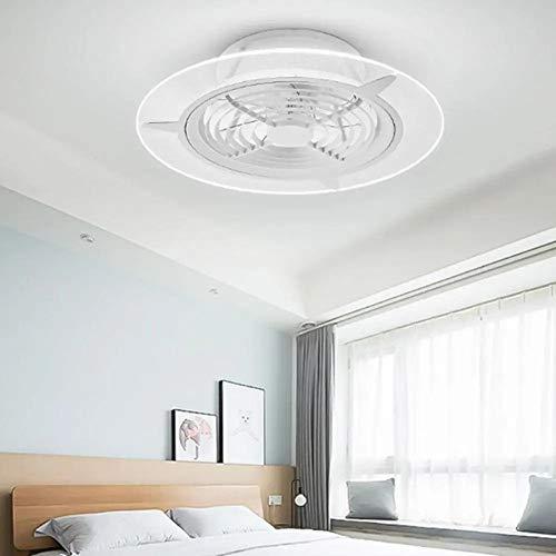Yzibei Schijnwerper voor buiten, intelligente led-plafondventilator, traploos dimbare app-controle