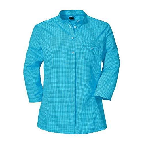 Schöffel Damen Mendoza2 3/4 Bluse, Caneel Bay, 34
