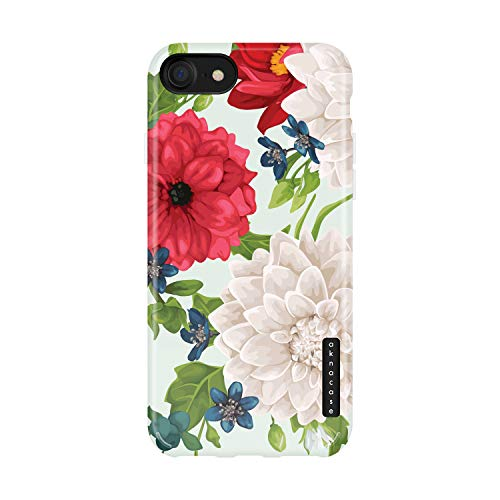iPhone 8 & iPhone 7 & iPhone SE [2020 Released] Case Vintage Floral, Akna Sili-Tastic Series High Impact Silicon Cover for iPhone 7/8 & iPhone SE [2020 Released] (101943-U.S)