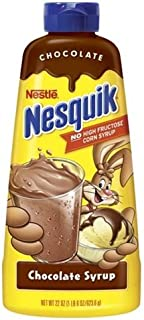 Nestle Nesquik Chocolate Syrup 22 oz (Pack of 12)