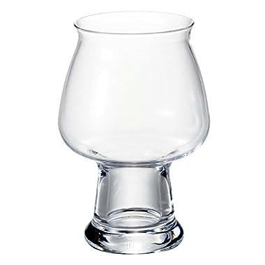 Luigi Bormioli Birrateque Craft Beer Glasses Cider (Set of 2), 17 oz, Clear