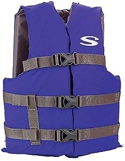 Colete Salva-vidas Boating Juvenil Azul 40kg - Stearns