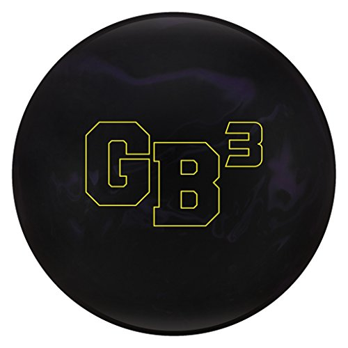 Ebonite Gamebreaker 3 Bowling Balls, Black/Purple, 10lbs