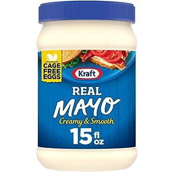 Kraft Mayo Real Mayonnaise  15 oz Jars Pack of 12
