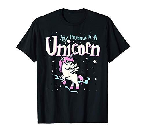 Mein Patronus ist ein Einhorn - Magischer Zauberer und Einho T-Shirt