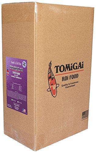 TOMiGAi Tategoi Shiroji Enhancer Premium Koi Fish Food (40 lb.