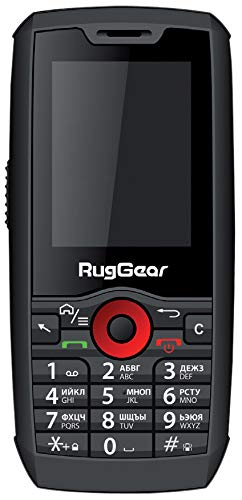 RugGear 99021340 RG160 Robustes Outdoor Handy schwarz
