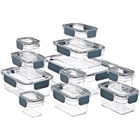 22-Piece Amazon Basics Tritan Locking Food Storage Container