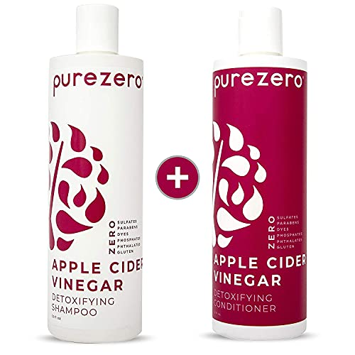 Purezero Apple Cider Vinegar Shampoo & Conditioner