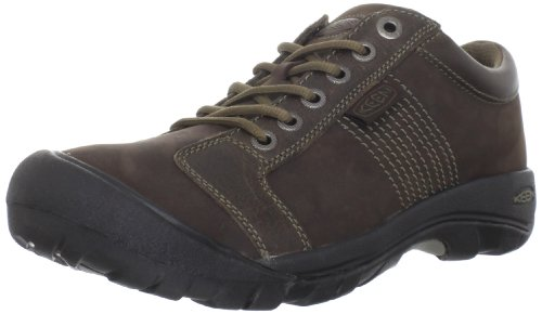 KEEN Men's Austin Shoe,Chocolate Brown,9 M US