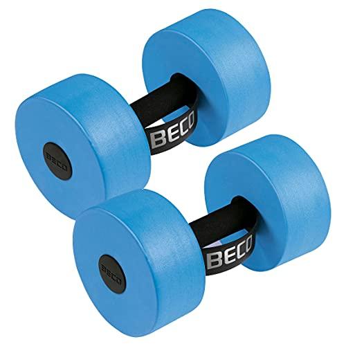 Beco Aqua Hantel Größe S | M | L Aqua Fitnessgerät Wassersport aus PE-Schaum, Large, C) Blau – Größe L