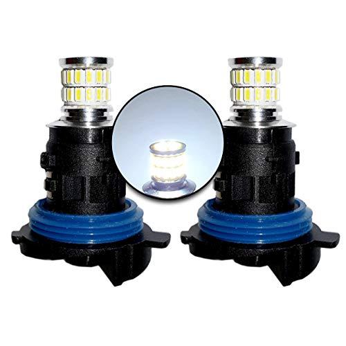 MCK Auto - HP24W LED CANbus blanco bombillas diurnas DRL luz lateral muy brillante y sin errores PSA - Transforma tu paseo