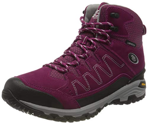 Brütting Mount Nansen High Outdoor- & Trekkingschuh Damen, Pink/ Grau, 40 EU