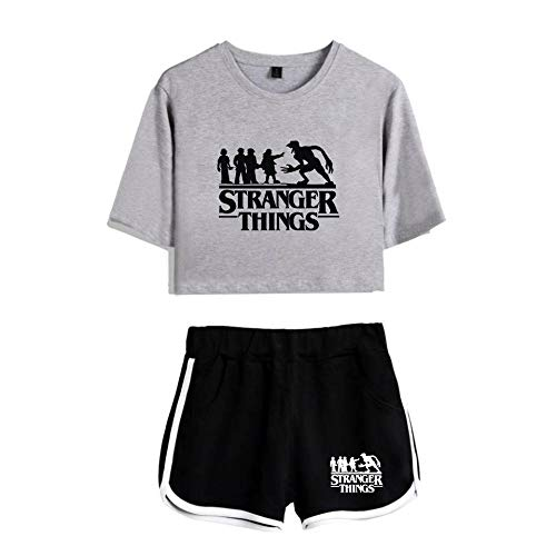 Stranger Things imprimiendo Camisetas y Shorts Tops de Ropa