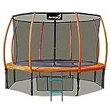 Angel Kinder Gartentrampolin Maxy Comfort Plus 312CM Spielzeug für draußen komplettes Trampolinset...