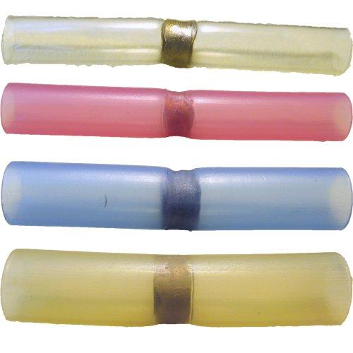 Preisvergleich Produktbild 50 Lötverbinder mit Heisskleber,  preiswertes Sortiment,  Schrumpfverbinder