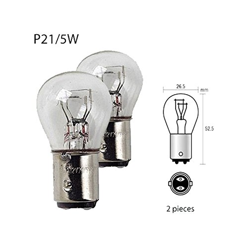 Ampoule 12 Volt 21/5W Culot BAY15D P21/5W - 841