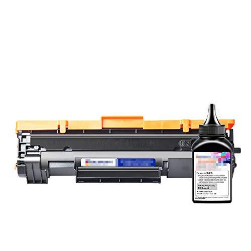 GYBN Chip printer cartridge, voor HP M28w toner cartridge, M31w tonercartridge cf248a gemakkelijk toe te voegen poeder 28a toner cartridge, voor HP CF244A toner LaserJet Pro M15W 15A printer cartridge 44a toner, 3000pages, Kleur