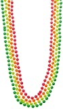 Collier Perle Fluo x 4