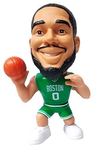 Party Animal NBA Boston Celtics Jayson Tatum Unisex Big Shot Ballers Action Figurine, Team Color, 5'' Tall (BSCEL)
