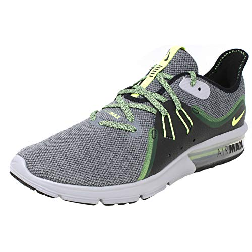 Nike Air Max Sequent 3 Grey/Green 921694 007 (9.5)