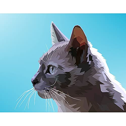 5D DIY diamante pintura Animal Panda loro conejo pollo gato perro diamante bordado mosaico arte imagen A5 40x50cm