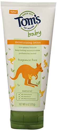 Toms Of Maine Lotion Baby Moisturizing Fragrance Free 6 Oz