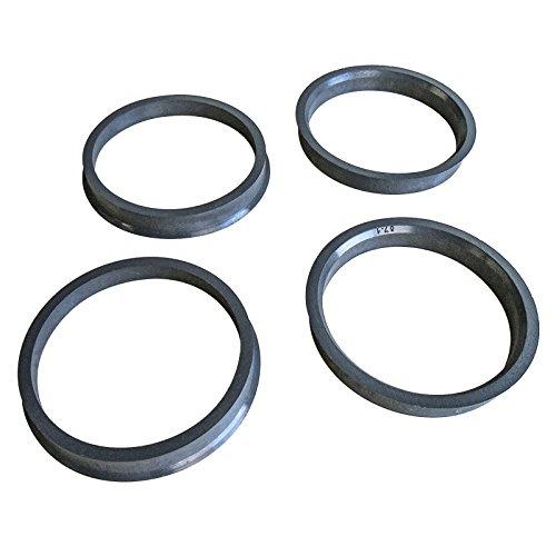 4x Zentrierringe Durchmesser: Aussen 64,1 mm + Innen 57,1 mm