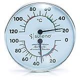 SULENO Sauna Klimamesser 2in1 Thermometer Hygrometer Klimastation -