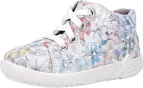 Superfit Baby Mädchen Starlight Sneaker, Weiß (Weiss 10), 23 EU