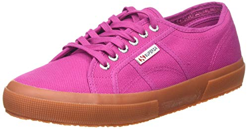 SUPERGA 2750 Cotu Classic Shoes, Scarpe da Ginnastica Donna, Viola Fuchsia, 44 EU