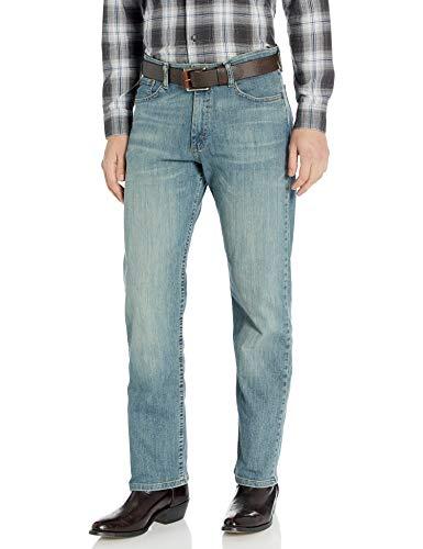 Wrangler Authentics Men's Regular Fit Comfort Flex Waist Jean, Slate, 38W x 30L