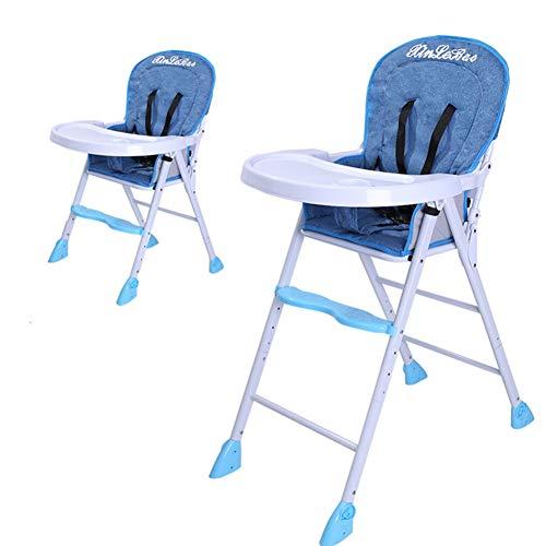 Chaise de bébé Pliable Réglable Portable Enfant Chaise bébé Siège de table MultifonctionB