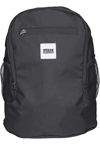 Urban Classics Foldable Backpack Rucksack 37 cm, 14 L, Black