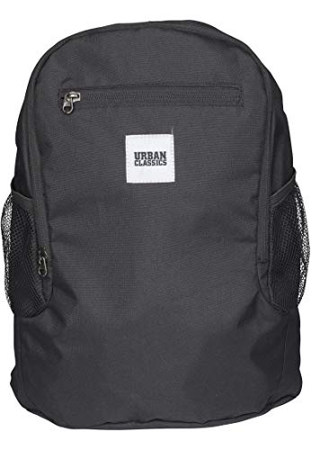 Urban Classics Foldable Backpack Mochila tipo casual, 37 cm, 14 liters, Negro (Black)