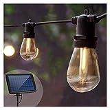 GYY Luces de Cadena Luz de jardín Solar S14 Bulbos Guirnalda Guirnalda con...