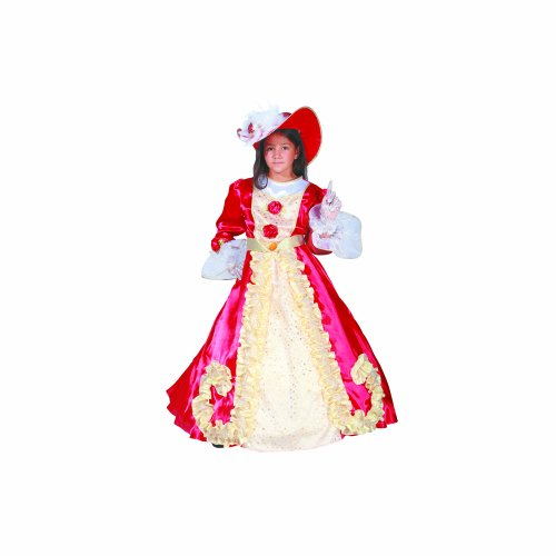 Dress Up America Adorable Noble Dame Enfants Costume