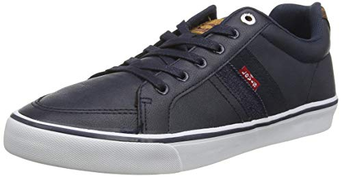 Levi's TURNER, Baskets Hommes, Bleu (Navy Blue 17), 44 EU