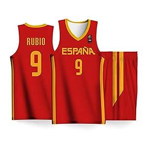 K&Q Camiseta Niño Ricky Rubio Selección Española de ...