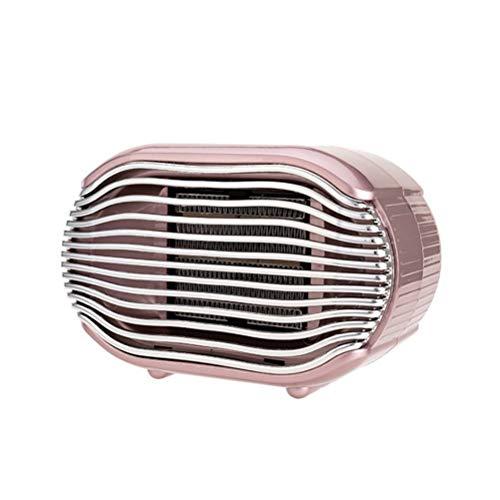 Bärbar elektrisk rumsvärme, keramisk uppvärmning med termostat, överhettnings- och tippskydd för hem och kontor