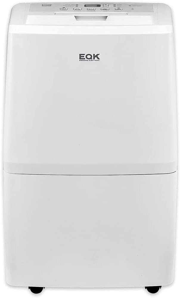 Emerson Quiet Kool New Standard 50 Dehumidifier (Old DOE 70 Pint), W WiFi and Voice Control, Works w Amazon Alexa and Google Home, EAD50SE1H, Capacity, White